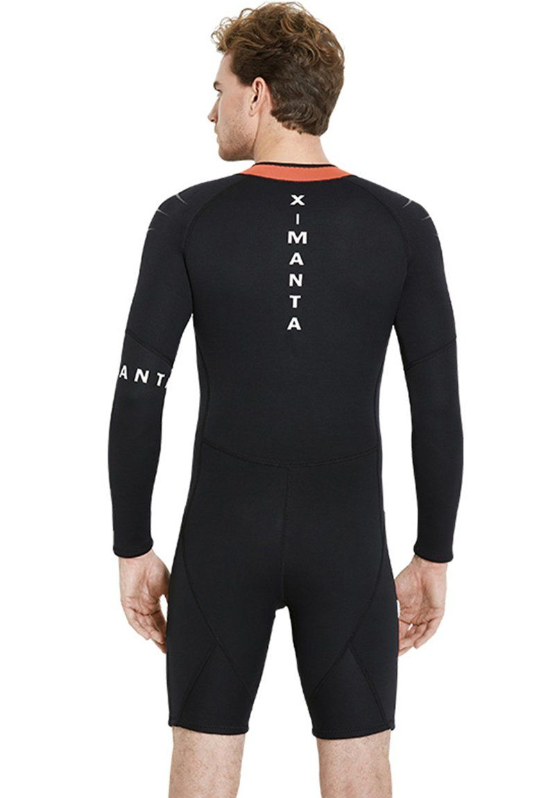 765923b36c Canoeing - Diving Shorty Wetsuits for Men Long Sleeve and Shorts Sun  Protection Breathable Surfing Suits 3mm Neoprene ** Inspect this  outstanding item by ...