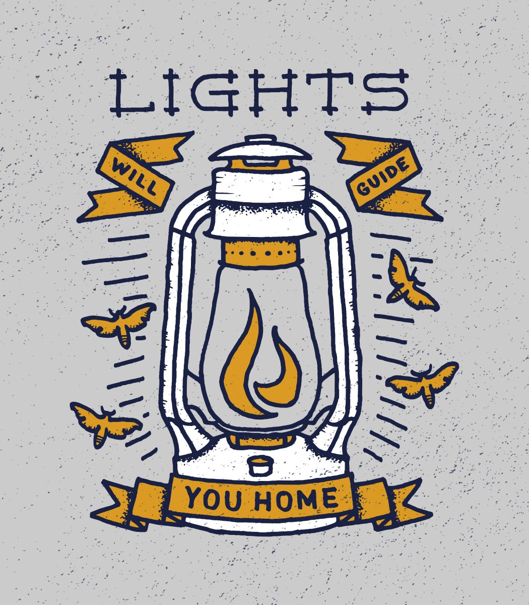 Lights will guide you home \\ Wade Ryan | Handlettering | Pinterest ...