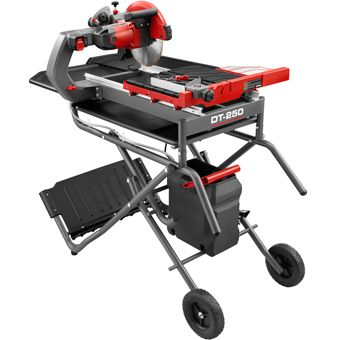 Rubi Dt 250 Evolution 10 Wet Tile Saw Contractors Direct Tile Saw Evolution 10 Tile Saws