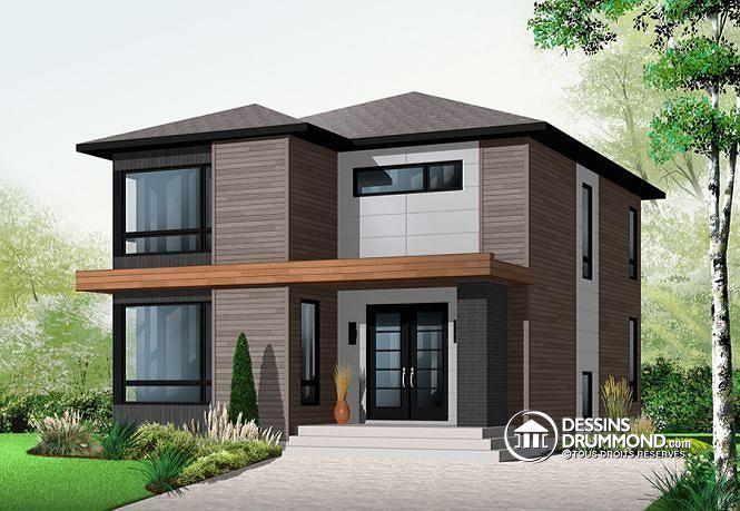Modèle contemporain attrayant, 3 chambres, grand séjour et salle