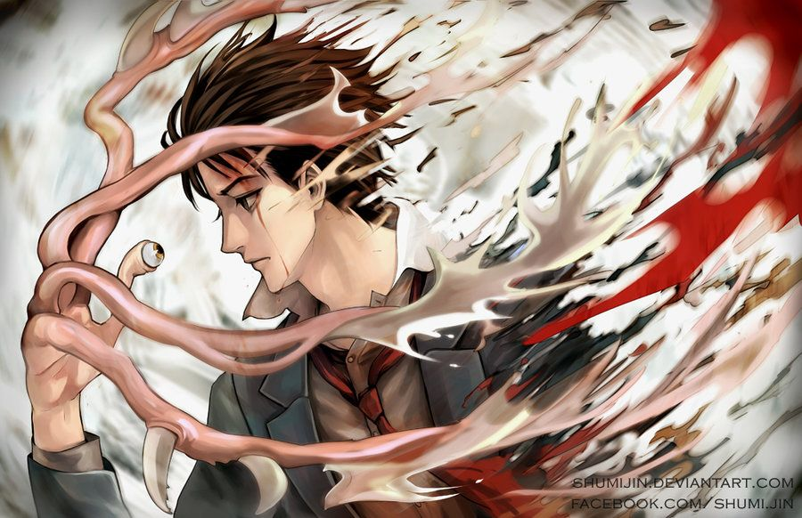 Parasyte By Shumijin On Deviantart