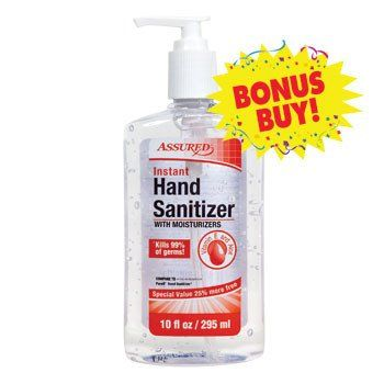 Assured Clear Instant Hand Sanitizer 10 Oz Pump Bottle