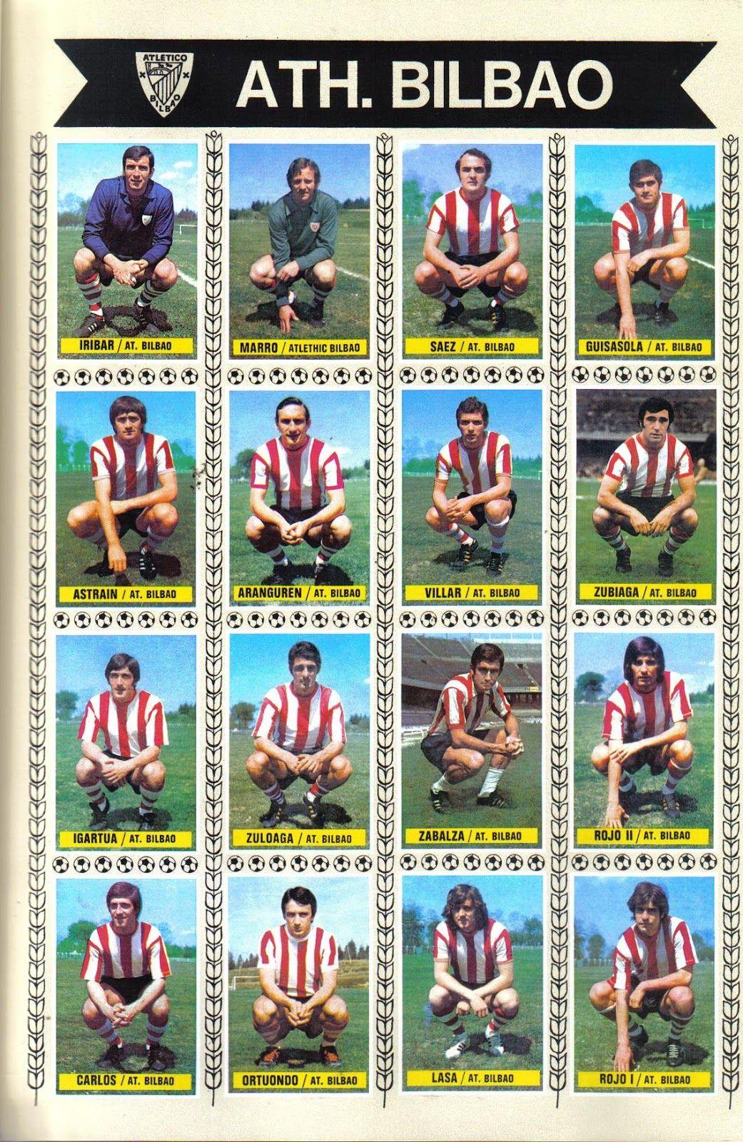Temporada 197475. Athletic Club de Bilbao. Editorial Este