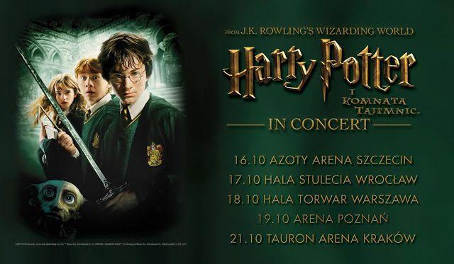 Harry Potter I Komnata Tajemnic In Concert Magia I Muzyka Na Drugim Roku W Hogwarcie Heavy Metal Music Wizarding World Concert