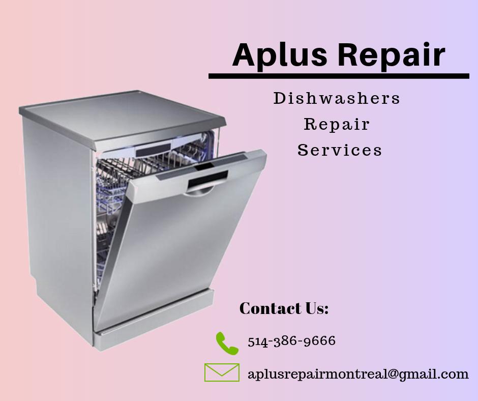 Dishwashers Repair Services Montreal Aplus Repair Arduino Proyectos