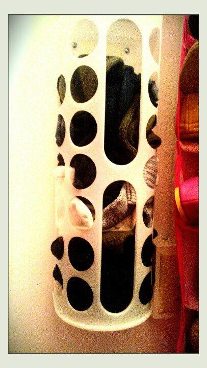 Ikea bag holder...aka shelter for lost socks!