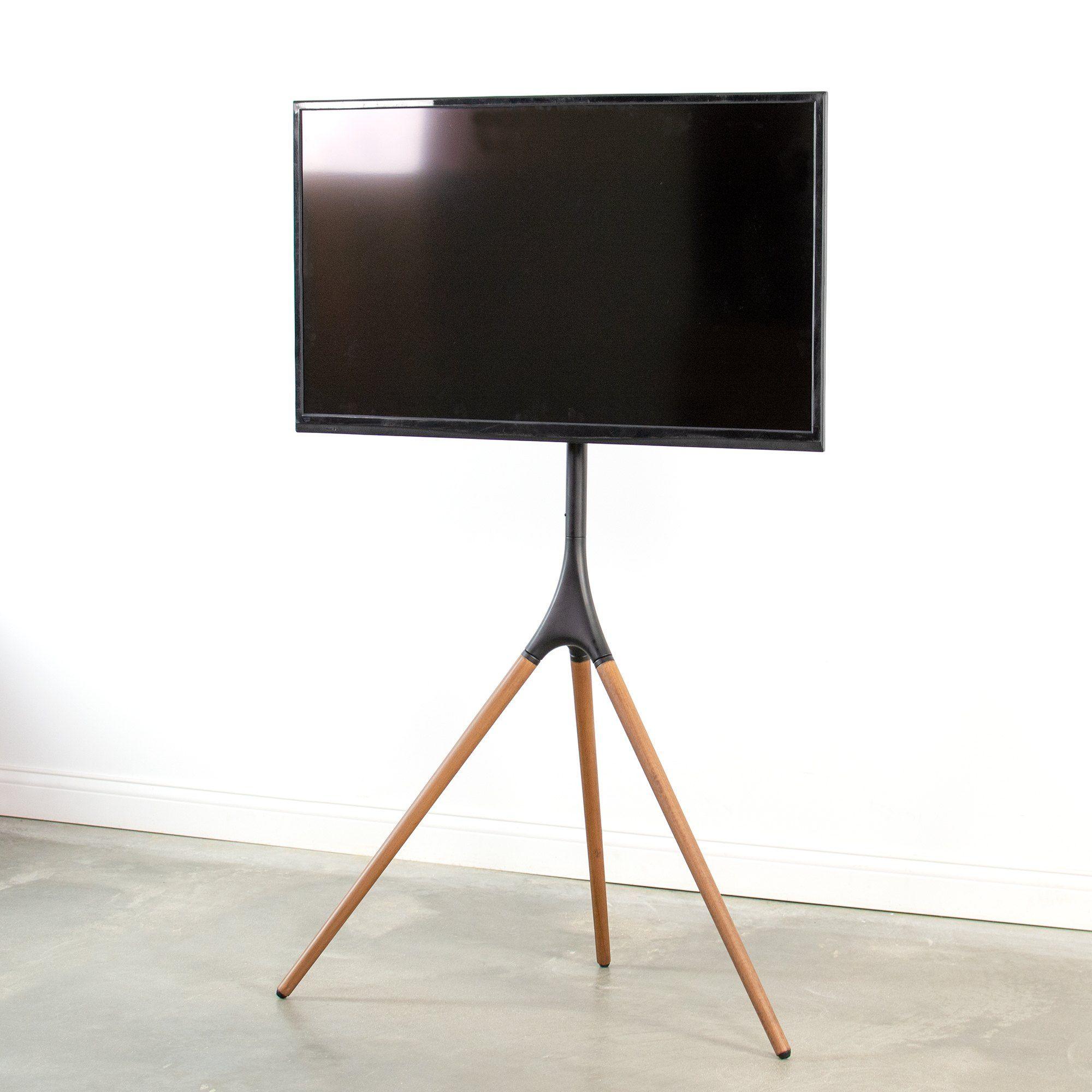 Vivo Artistic Easel Studio Tv Display Stand Adjustable Tv Mount