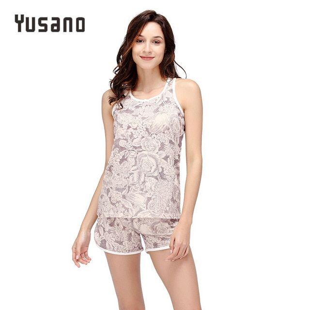 81fc0592d2 Black Lace Pajamas Satin Sleepwear Cami and Shorts Set Soft Lady Nightwear  Summer Nightie Elegant Nightgown Review