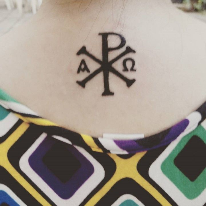 50 Chi Rho Tattoo Designs And Meanings Ink Tattoos Chi Rho