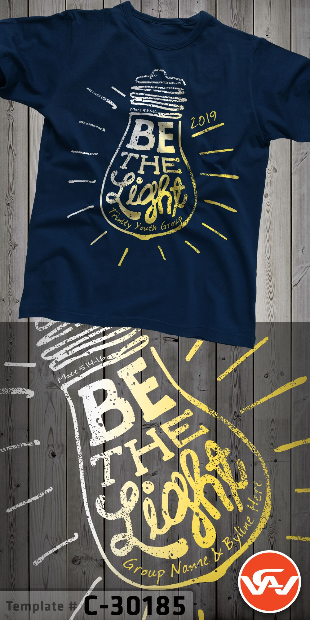 Youth Group Room Paint Ideas: Christian T-Shirt Design