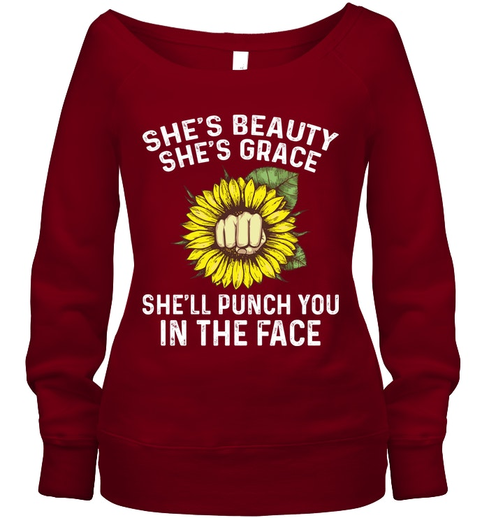 She'll Punch You In The Face   Funny Shirts   Funny Mugs  Funny T Shirts For Woman And Man