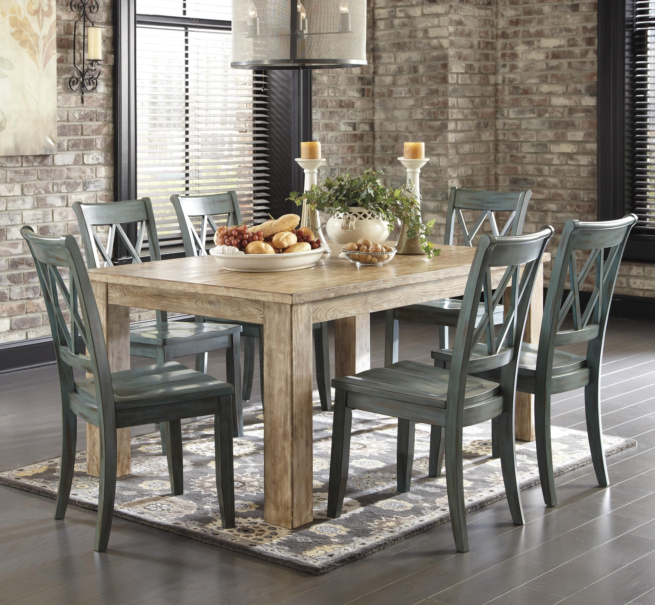 Kitchen Dining Room Sets You Ll Love: Just Purchased!! Mestler 7-Piece Table Set With Antique