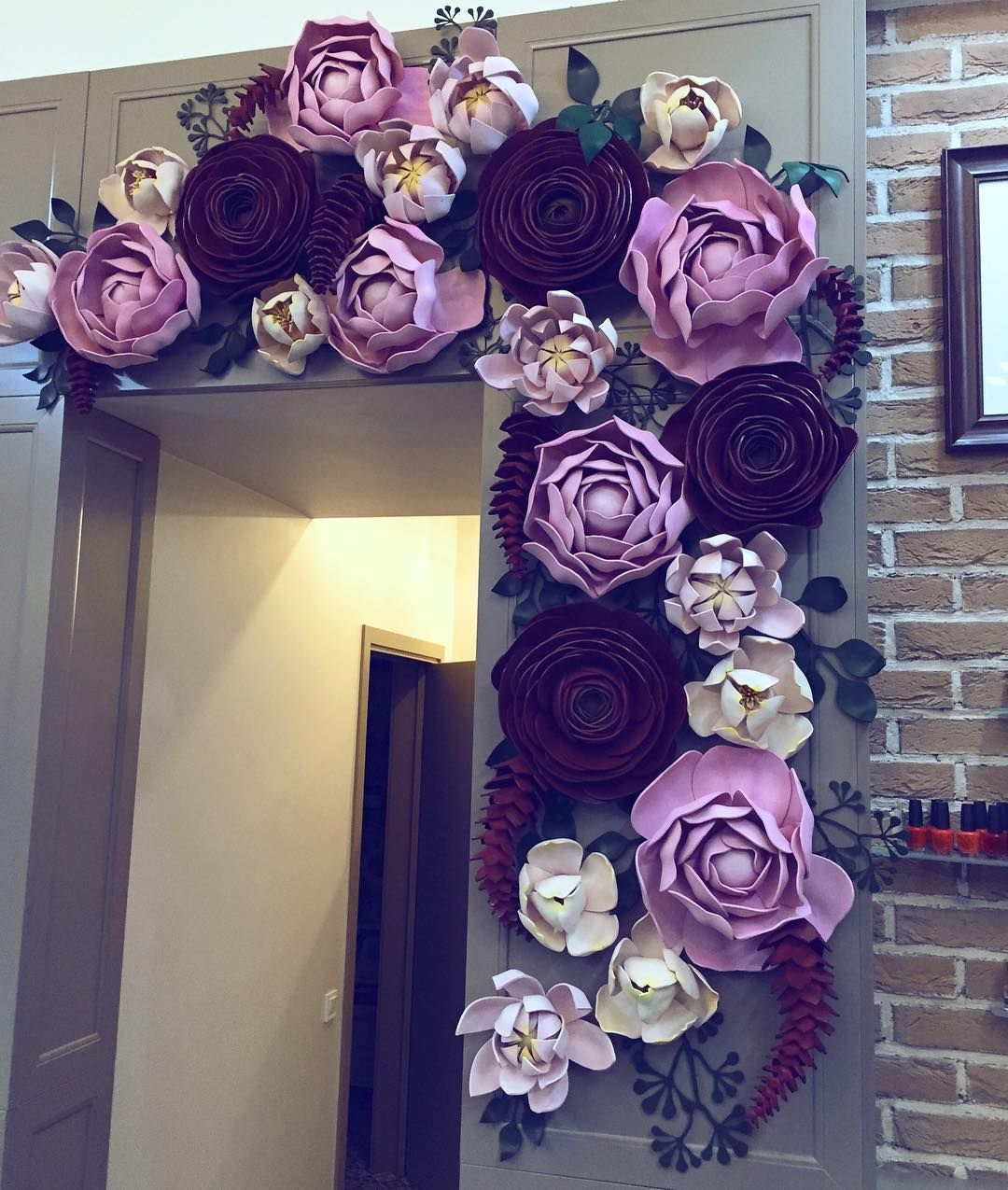 Pin by My Info on decor  Pinterest  Flowers Backdrops and Craft
