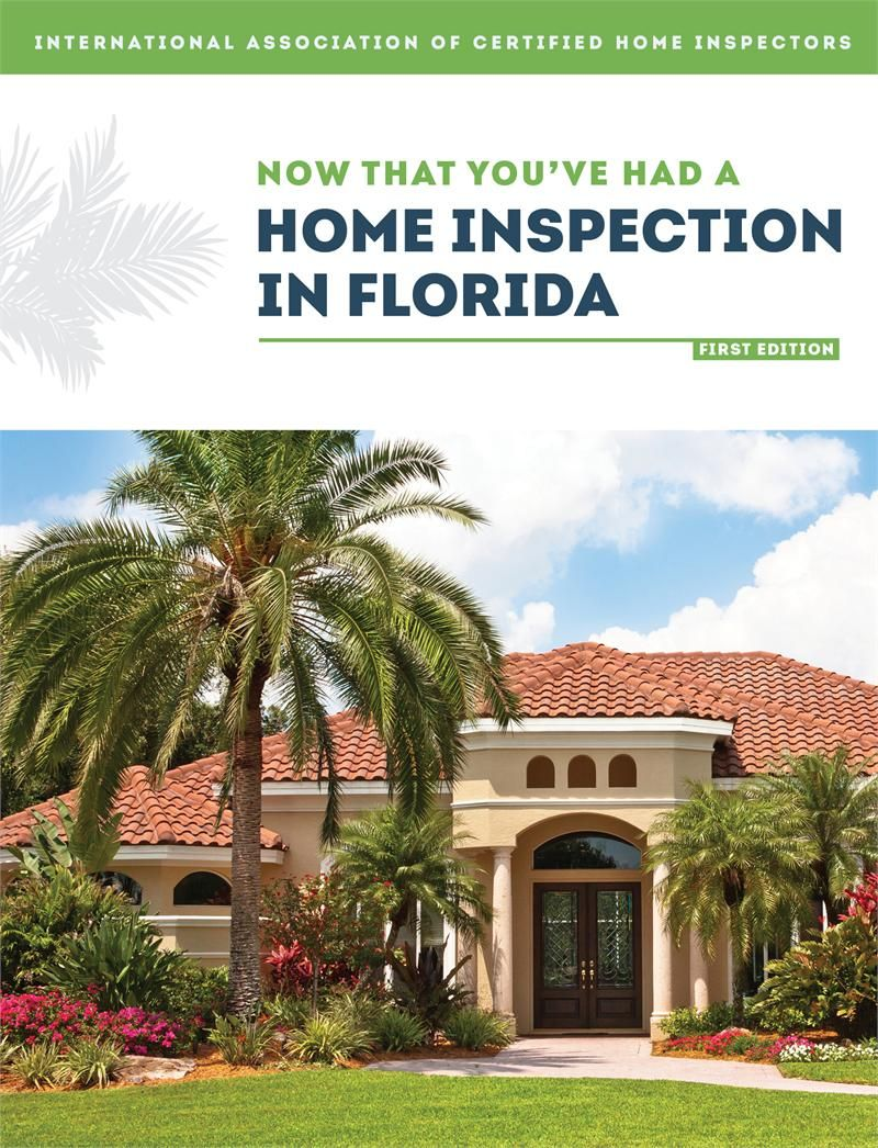 Florida Now That You've Had a Home Inspection Book Home