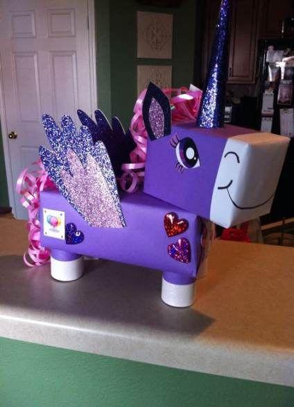 Unicorn Valentines Boxes Diy _ Unicorn Valentines