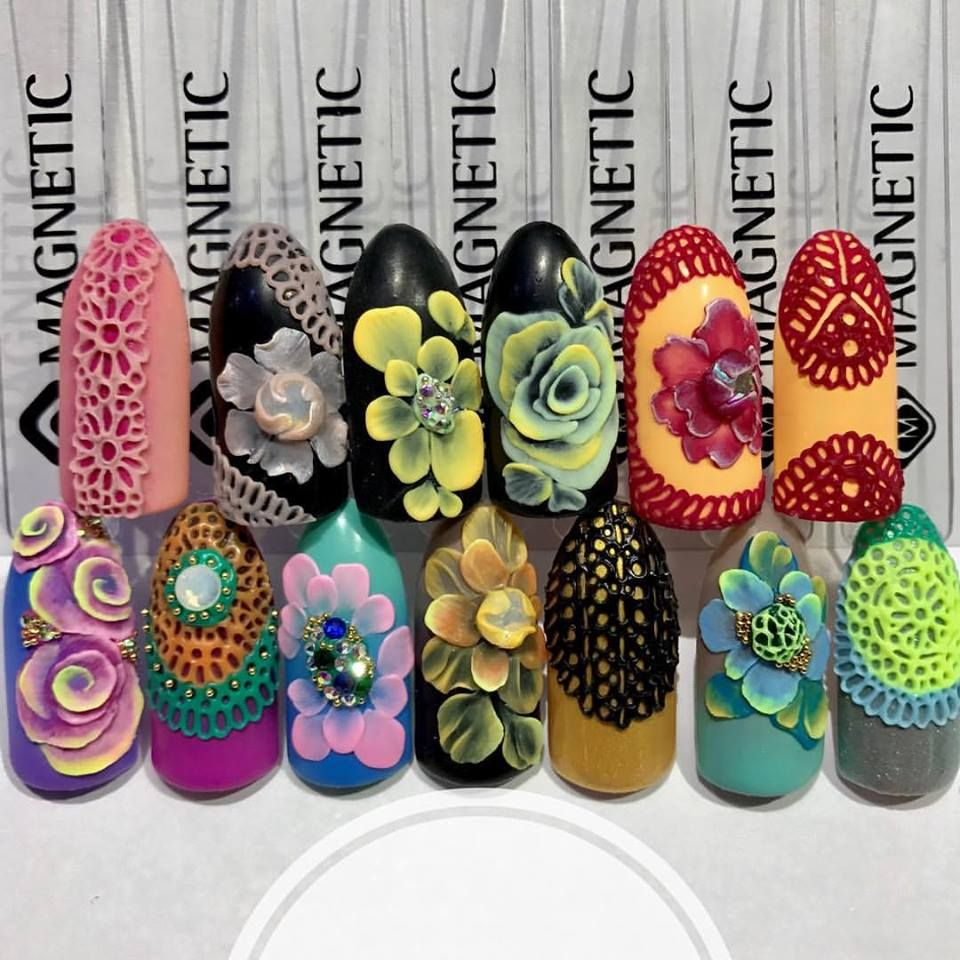 PlastiGel by Magnetic - 3D design with gel by Albina Maria Garcia ...