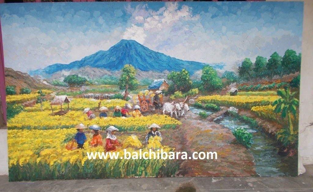 12 Lukisan Pemandangan Sawah Padi Tahun 4 Terletak Hanya Sekitar 70 Kilometer Dari Jakarta Puncak Merupakan Tempat Wisata Yang Sel Di 2020 Pemandangan Lukisan Gambar