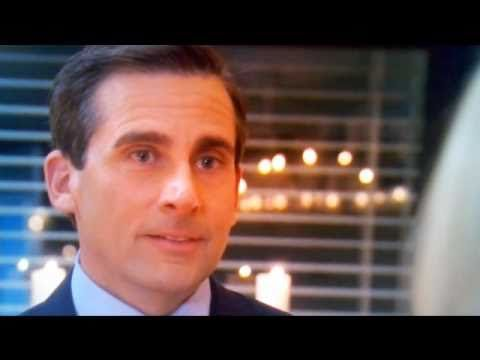 I Love This Proposal Michael Scott Proposes To Holly Of Course