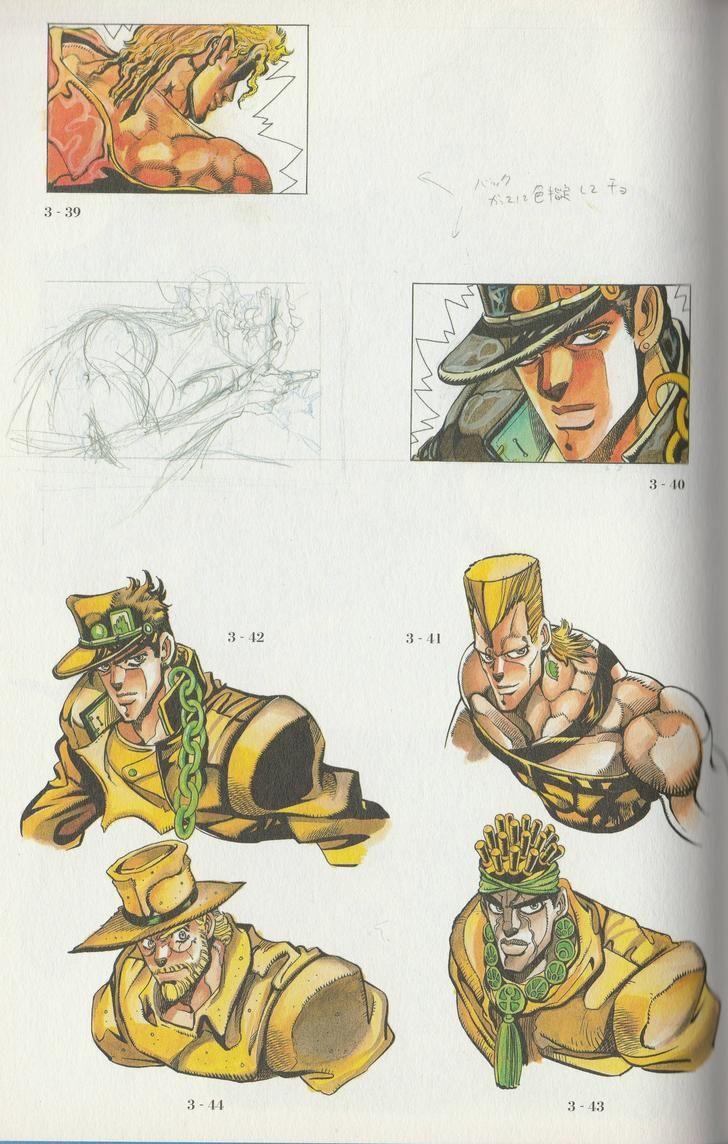 Araki works 1981 - 2012 | Jojo anime, Jojo bizzare ...