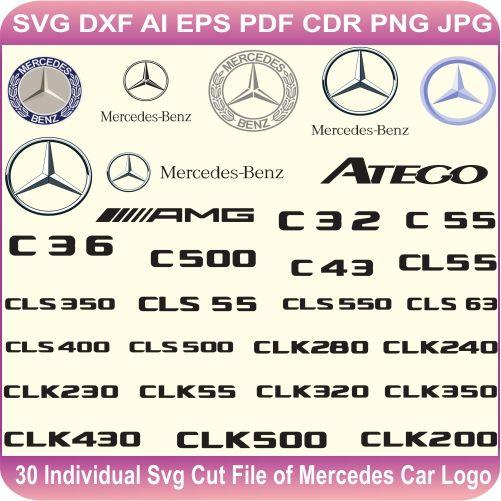 Mercedes Benz Logo Vector Mercedes Car Logo Svg Cut Files Svg Cut
