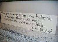 oh clever pooh!, i love you