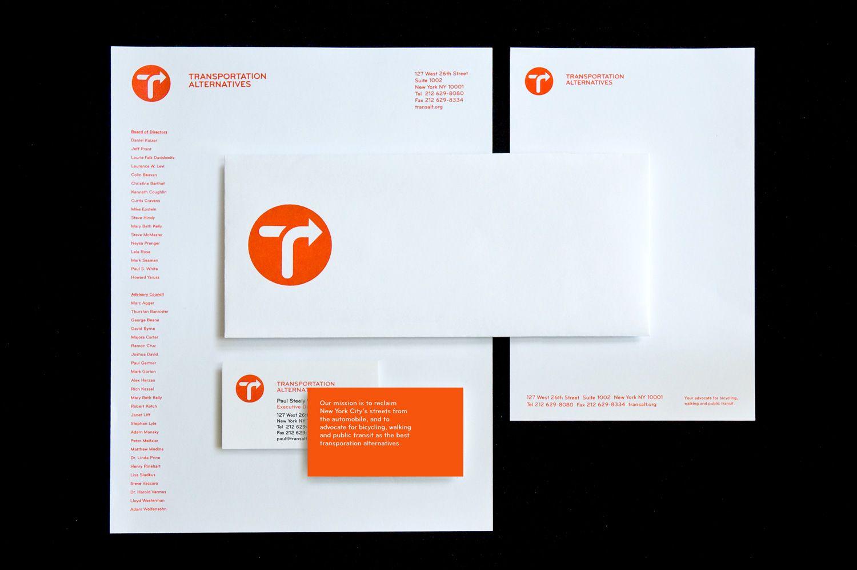 Transportation Alternatives - Business Card Design Inspiration ...