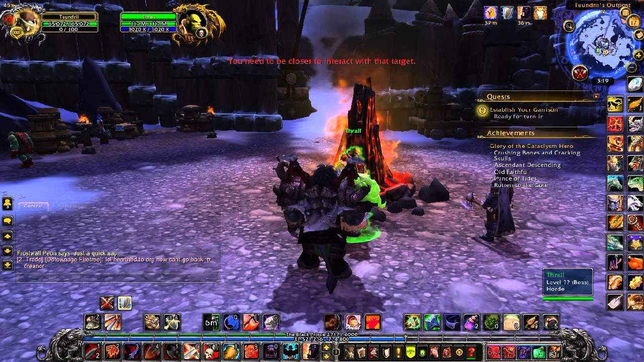 Warlords Of Draenor Checking Out Lvl 1 Outpost Wow Leveling Guide For All Wow Players Warlords Of Draenor World Of Warcraft Warcraft