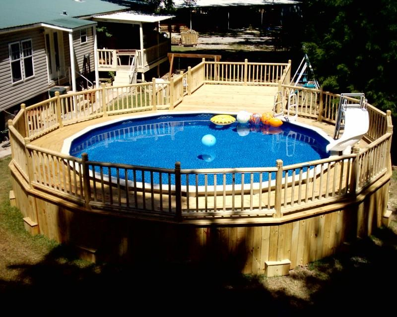 Pool Deck Ideas For Above Ground Pools above ground pool deck ideas on a budget the most common built deck is a 17 Best Ideas About Pool With Deck On Pinterest Above Ground Pool Decks Pool