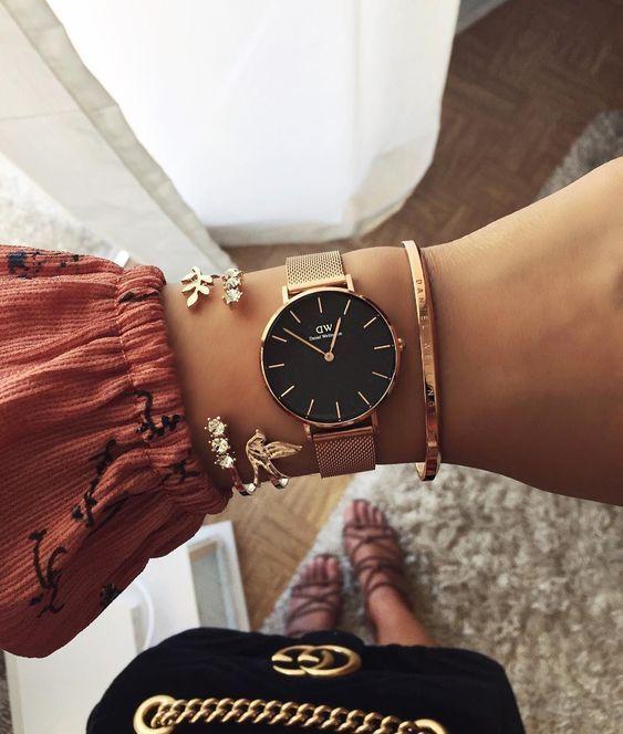 21 relojes originales para mujeres de moda 2019 21 Montres originales pour femme ten …