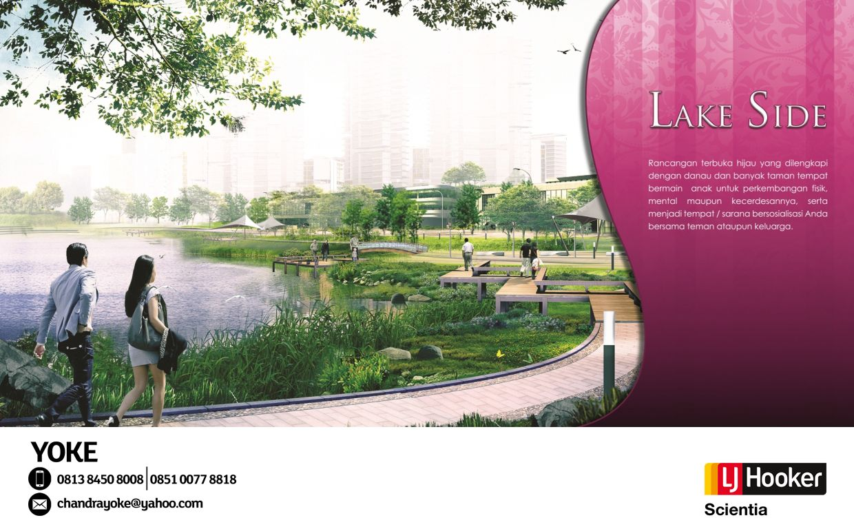 la Seine Jakarta Garden City [ 370 Ha ] developed by