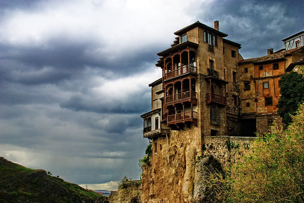 Hanging houses of Cuenca, Spain For further information