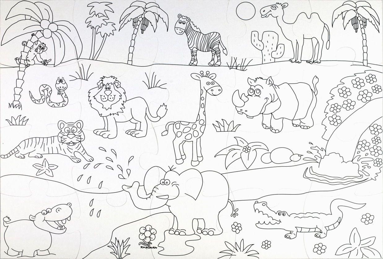 Znalezione Obrazy Dla Zapytania Dzikie Zwierzeta Kolorowanki