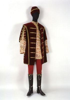 Late 1800s Férfi díszruha - díszmagyar (mente, dolmány, süveg, öv és nadrág)