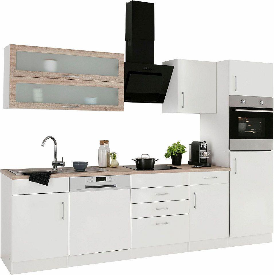 Held Möbel Küchenzeile ohne E-Geräte »Utah«, Breite 280 cm Jetzt ...