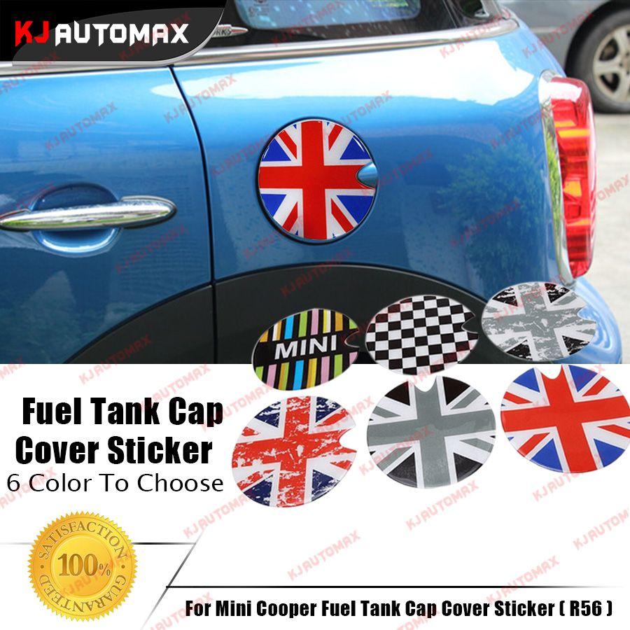 For Mini 3d Gas Tank Cover Sticker Mini Cooper S R55 R56 R57 R58 R59 R60 R61 F55 F56 Cap Sticker Modified Decoration Acce Interior Accessories Mini Cooper Mini [ 900 x 900 Pixel ]
