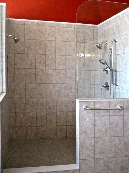 Open Showers Do Not Have An Enclosing Wall Shower Door Or Shower