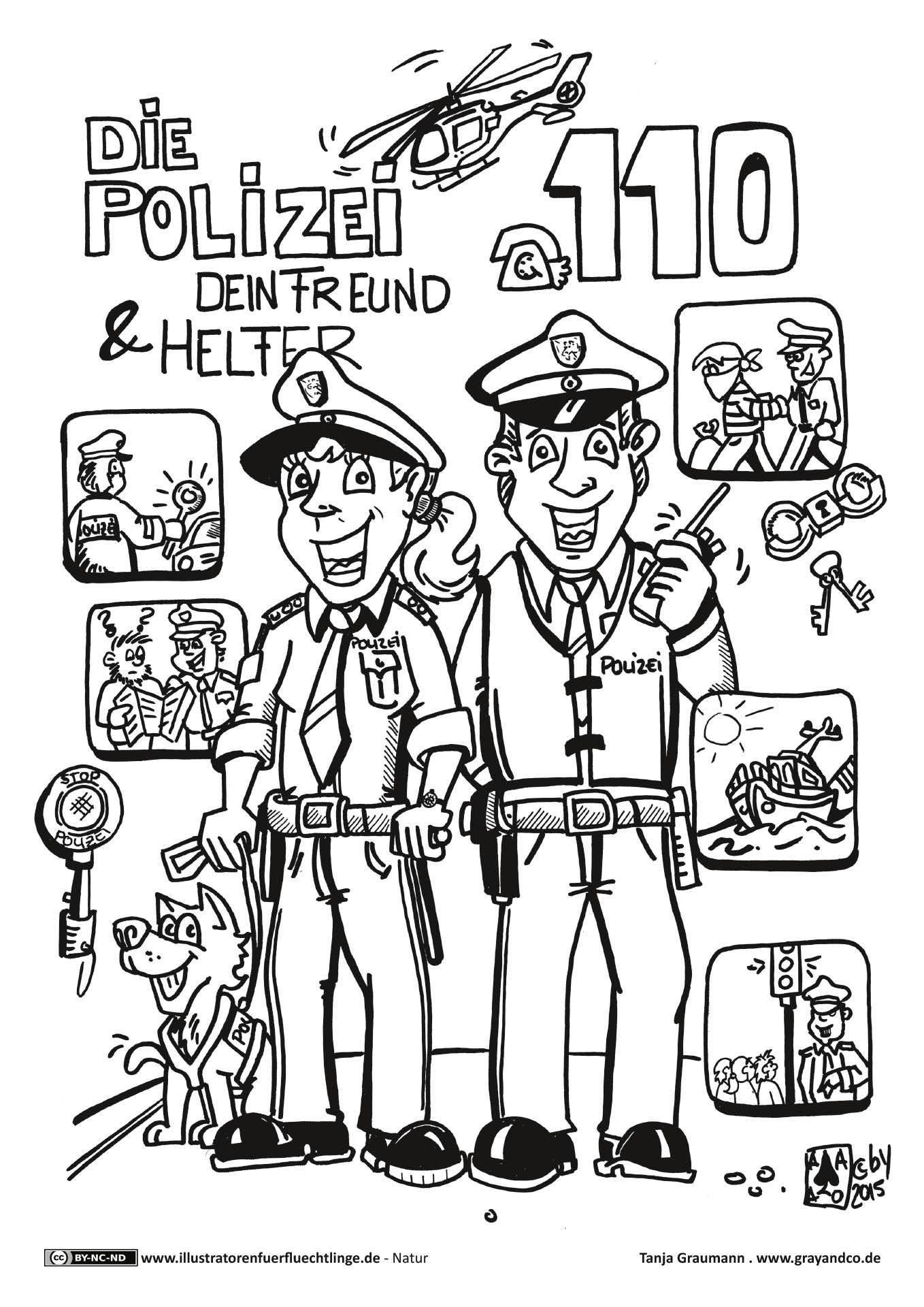 ausmalbilder polizei sek - tiffanylovesbooks