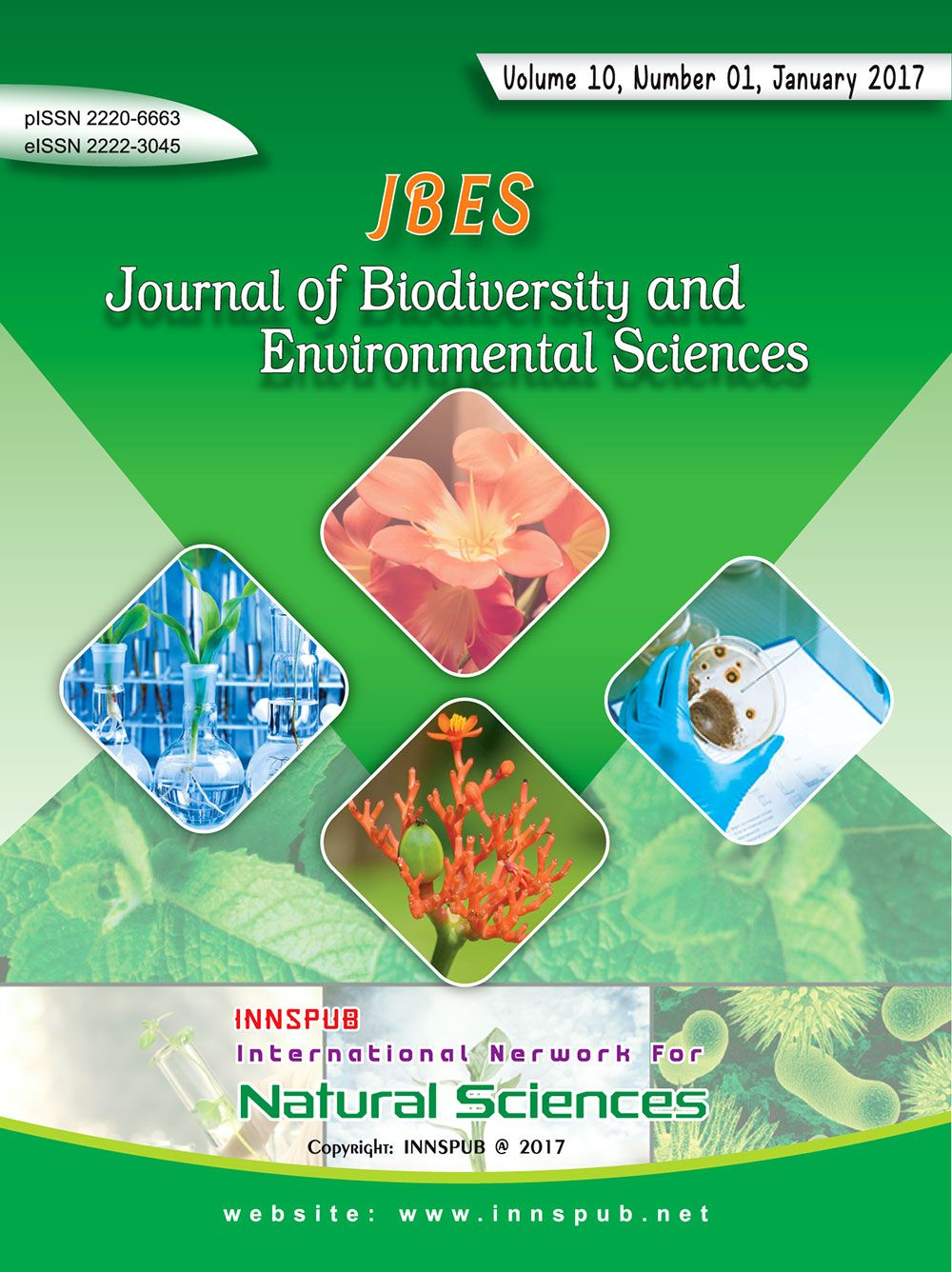 Pin by Innspub Journals on Journal of Biodiversity and