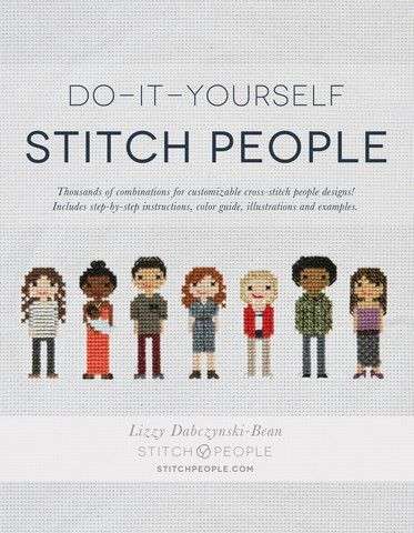 Do it yourself stitch people book pinterest pattern design cross stitch pattern design book pre order solutioingenieria Images