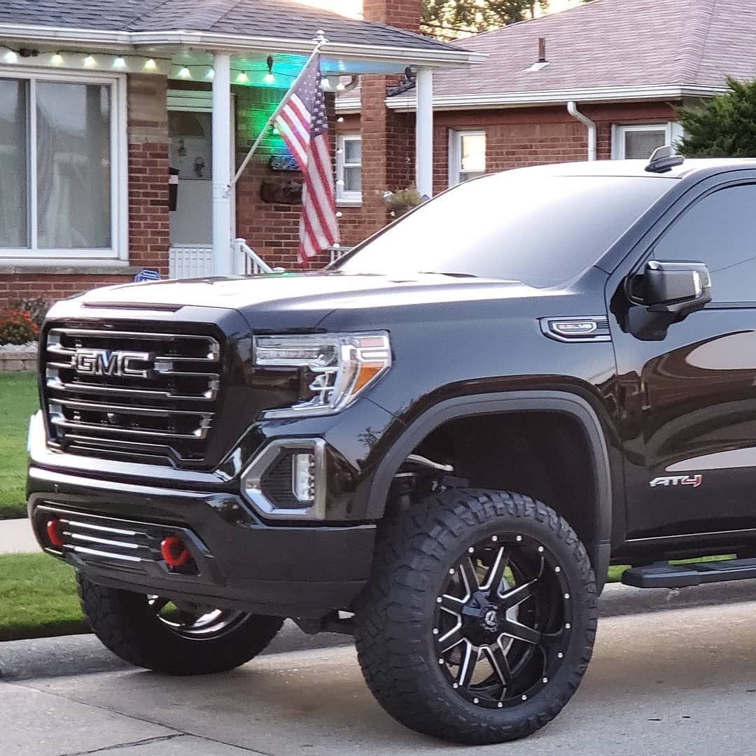 2019 Gmc Sierra At4 6 2 22x10 24 Fuel Mavericks On 35x12 50x22
