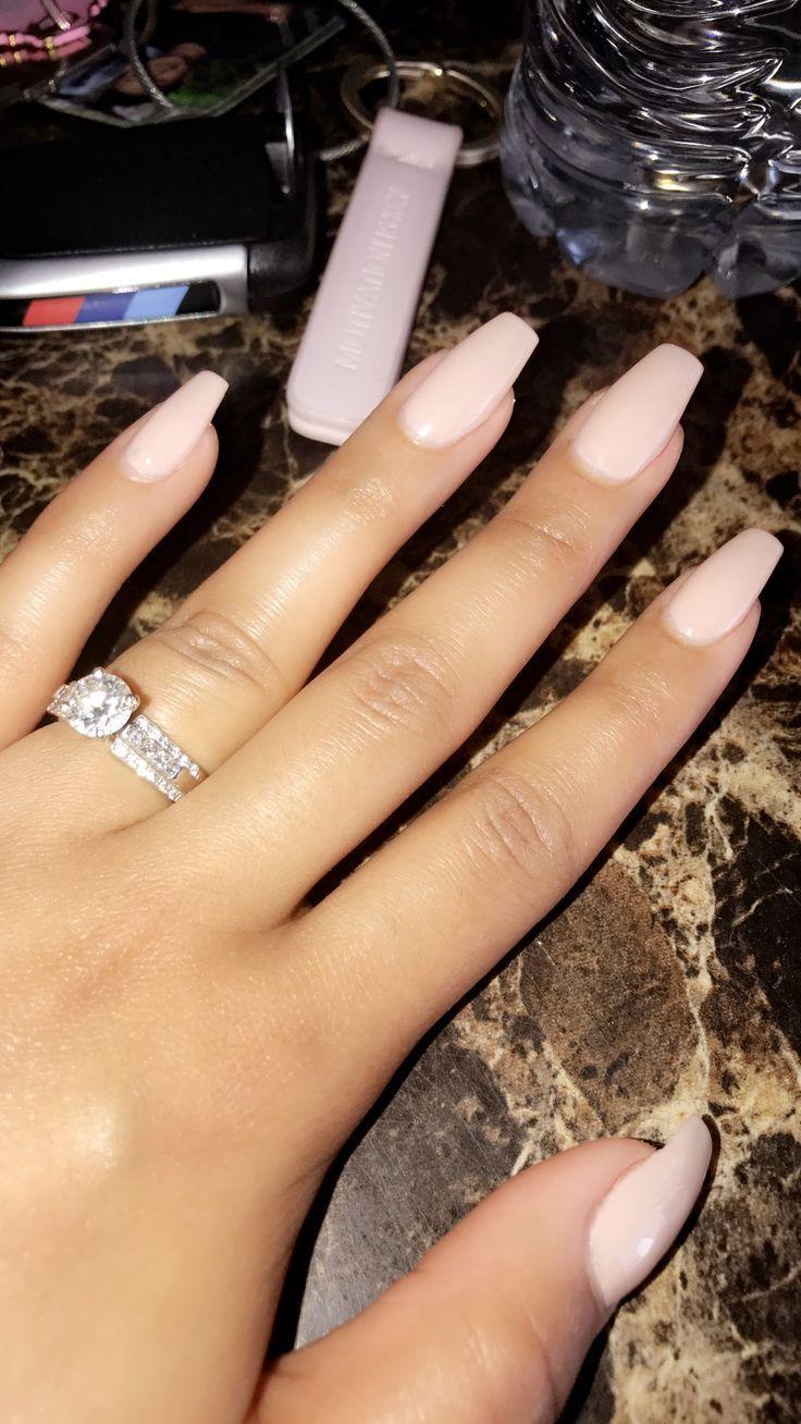 Acrylic Nails – Naked Nails OPI Gel Acrylic Nails Coffin nails