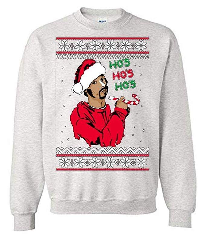 Thetshack Ho Ho Ho Snoop Dogg Ugly Christmas Sweater Unisex Xxxl