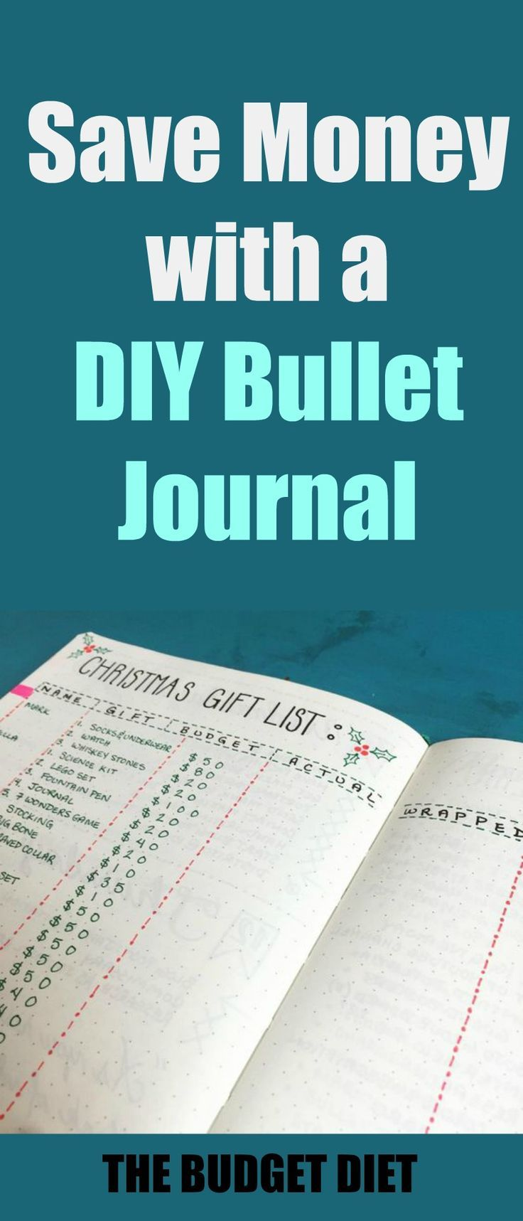7 ways to save money with a diy bullet journal bullet journals