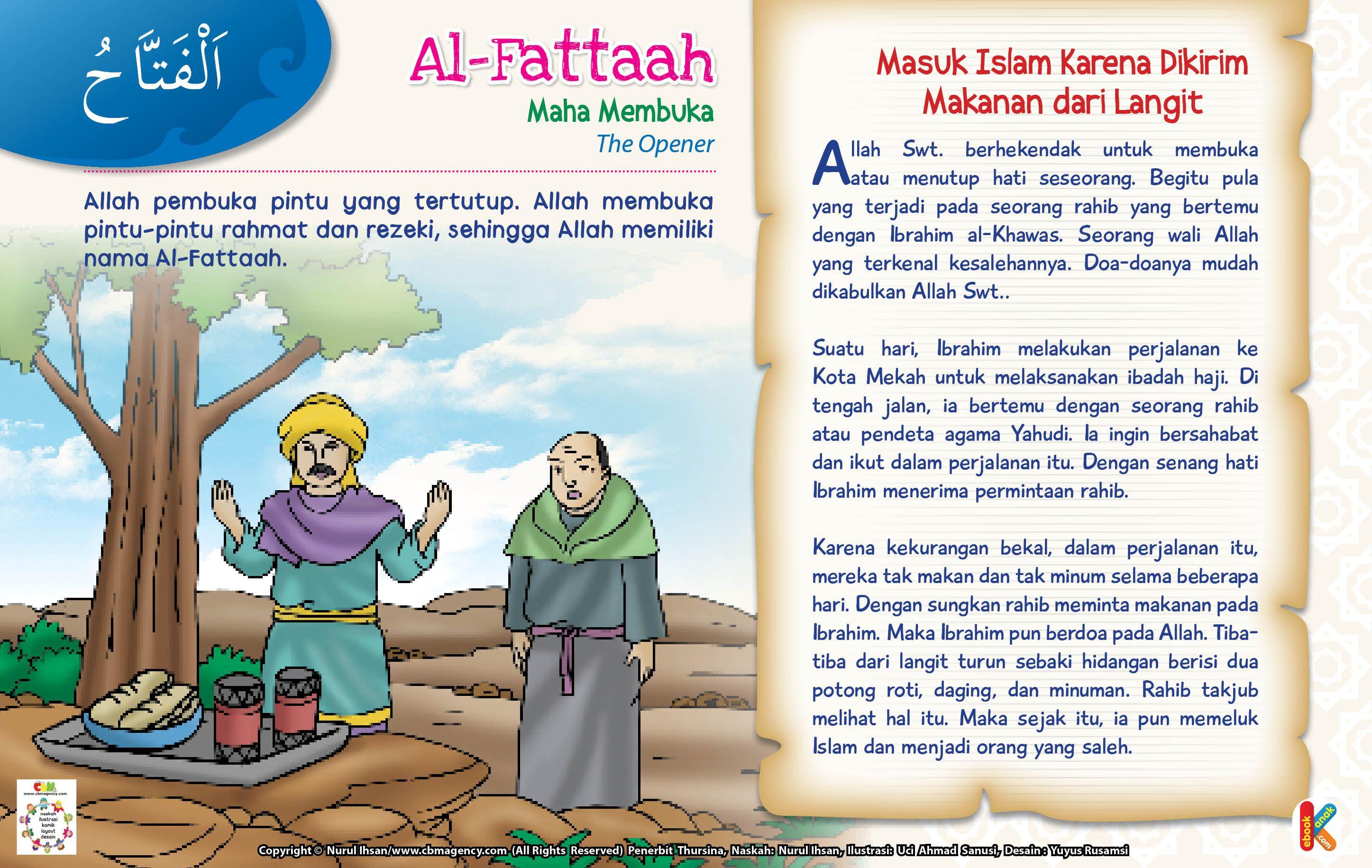 Kisah Asmaul Husna AlFattaah
