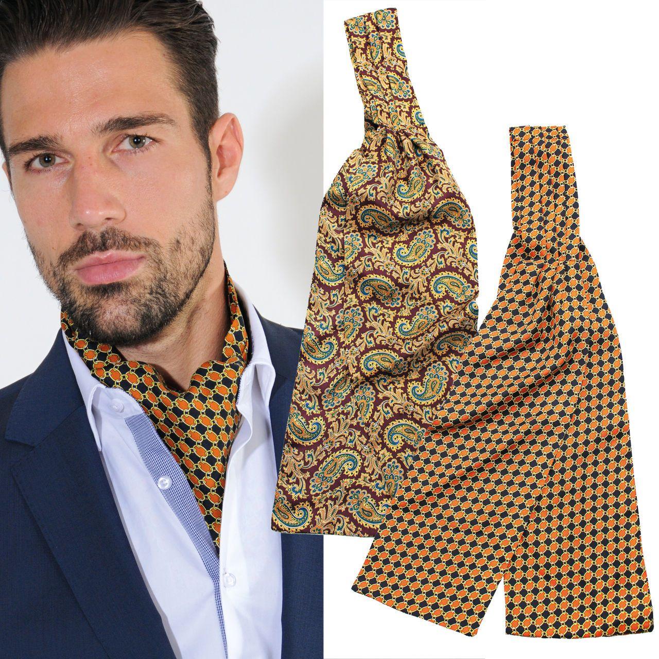 die l ssige alternative zur krawatte edle krawattenschals aus seide herren mode pinterest. Black Bedroom Furniture Sets. Home Design Ideas
