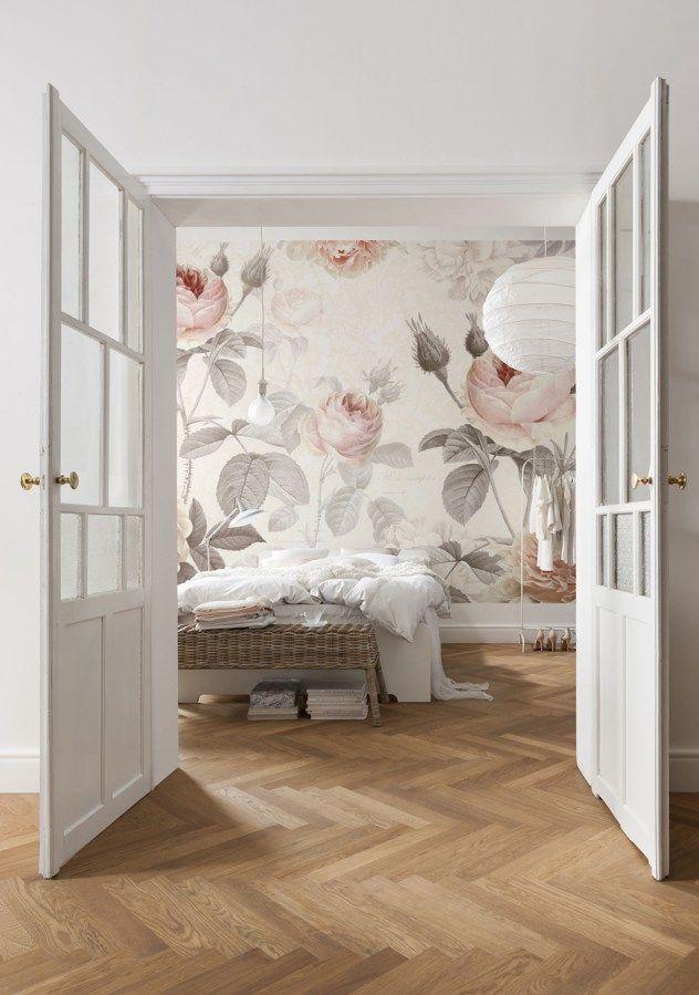 Tapeten Trend Botanik u2013 Die neuen Blumentapeten Trends, Tapeten - tapeten trends schlafzimmer