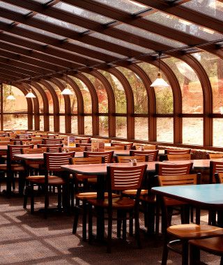 Brown Interior Design For School Canteen Ideas Image Best