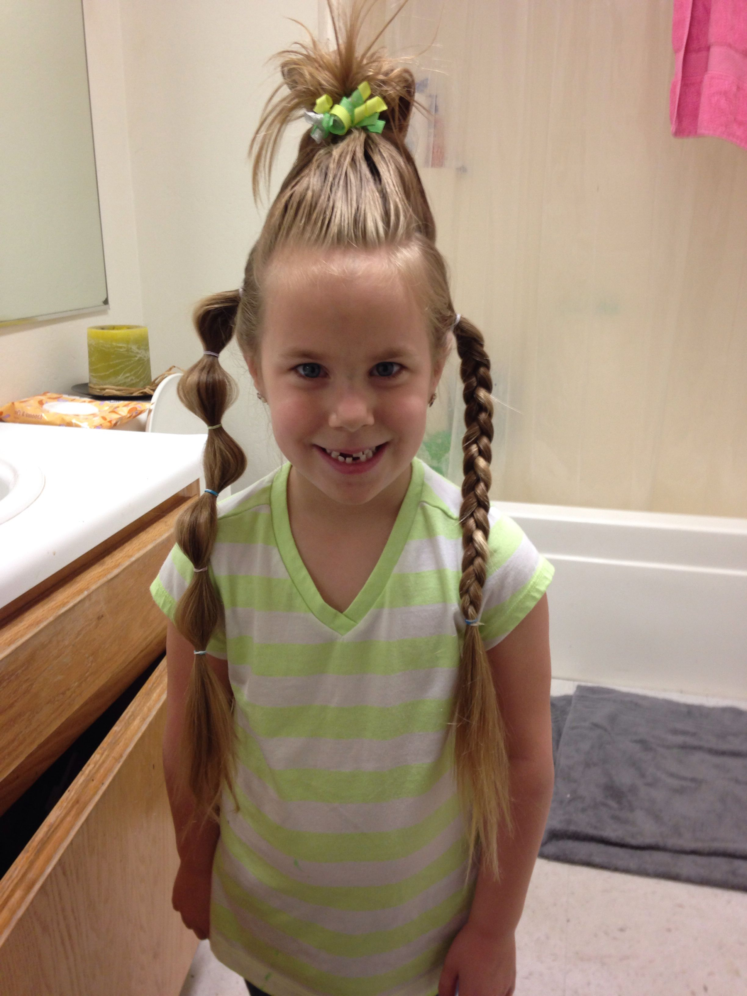 Crazy Hair Day Or Wacky Wednesday Wacky Hair Wacky Hair Days Crazy Hair Days