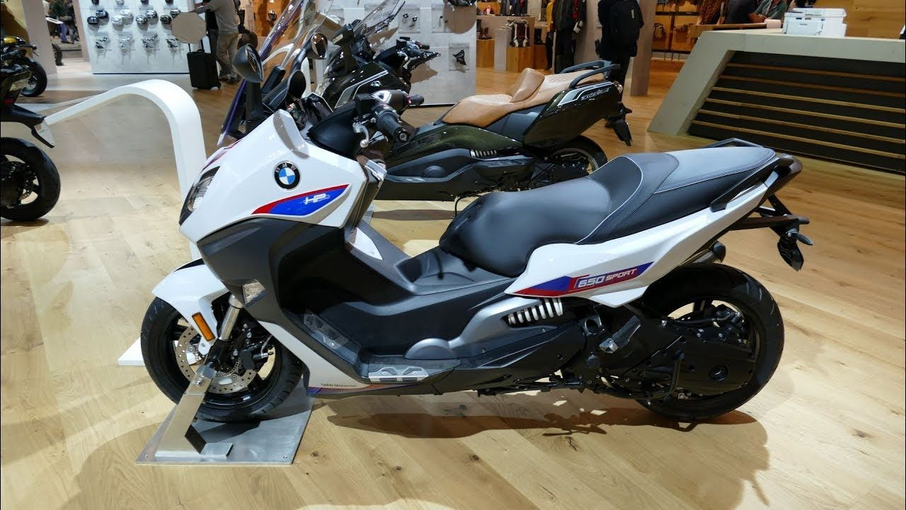 2019 Bmw C 650 Sport Walkaround Power Tv Bmw Power Tv Sports
