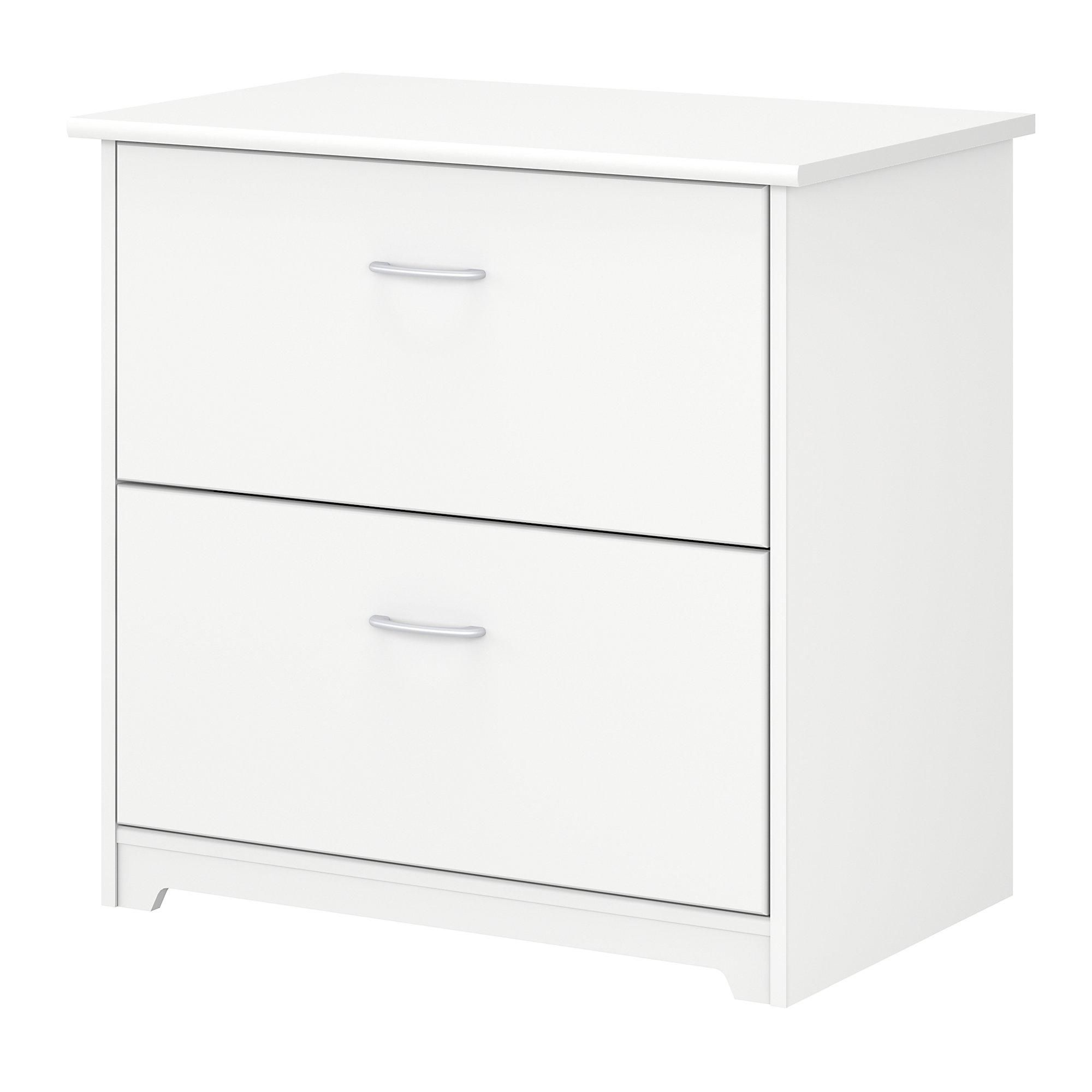 Traditional White 2 Drawer Lateral File Cabot Filing Cabinet Cabinet Lateral File